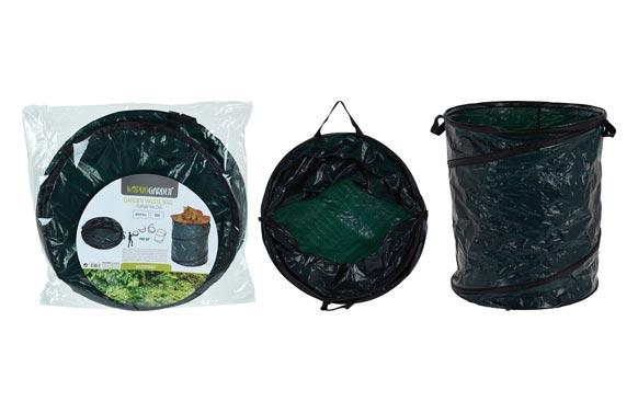 Saco bolsa jardin para residuos pop up 120 lts