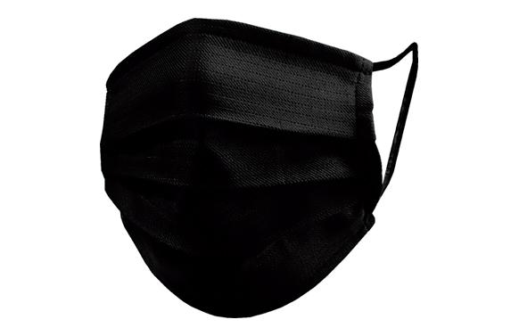 Mascarilla quirugica desechable tipo ii negra 25 unidades
