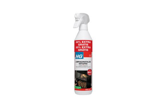Limpiador cristal estufas y chimeneas 500 ml + 30%