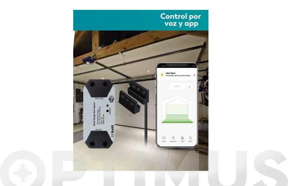 Control apertura puertas garaje control wifi