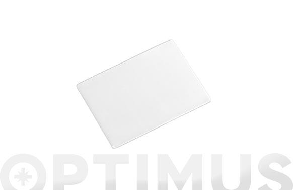 Placa de gel adherente reutilizable transparente 80 x 60 mm