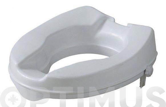 Elevador wc ergonomico blanco