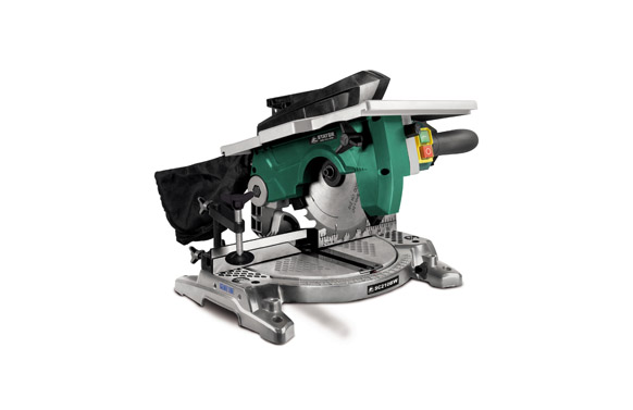 Ingletadora con cable mesa superior 1200w ø disco 210 mm